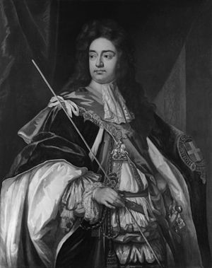 Charles Sackville, 6th Earl of Dorset - Portrait of Sackville by Godfrey Kneller, 1694