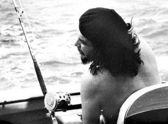 Alberto Korda - In March 2010, an original proof of this 1960 Korda photo of Che Guevara fishing with Fidel Castro, sold at auction for £ 6,600.