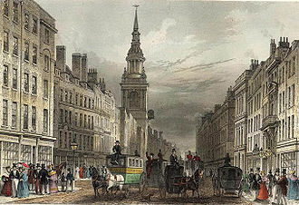 Isabella Beeton - Cheapside, London, where Isabella and her family moved in 1836