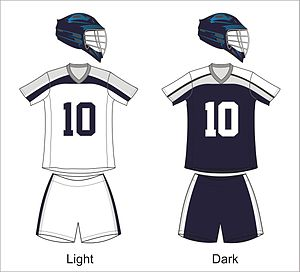 Chesapeake Bayhawks - Bayhawks uniforms