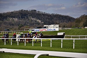 Chepstow Racecourse - Horse racing at Chepstow racecourse