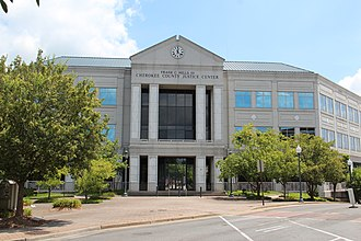 Cherokee County, Georgia - Image: Cherokee County Superior Court panoramio