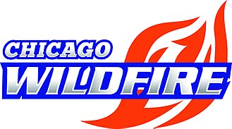 Chicago Wildfire - Image: Chicagowildfire 2017logo