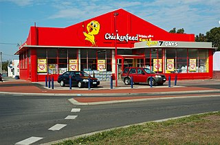 Chickenfeed (retail chain) Former Australian chain of discount variety stores
