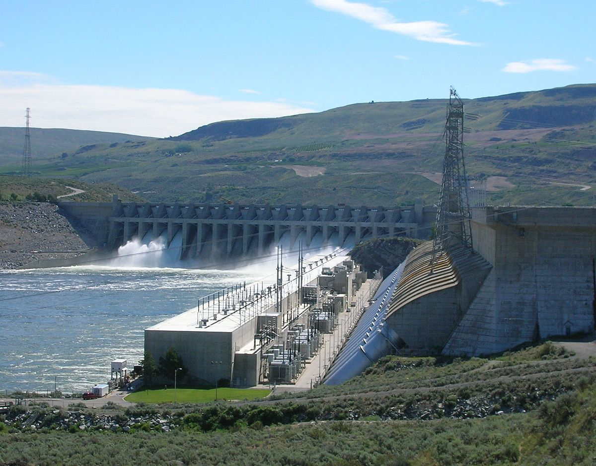 List of dams and reservoirs in Washington - Wikipedia Map Of The State Washington With Cities And Dams on