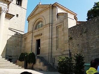 Religion in San Marino - Chiesa di San Pietro