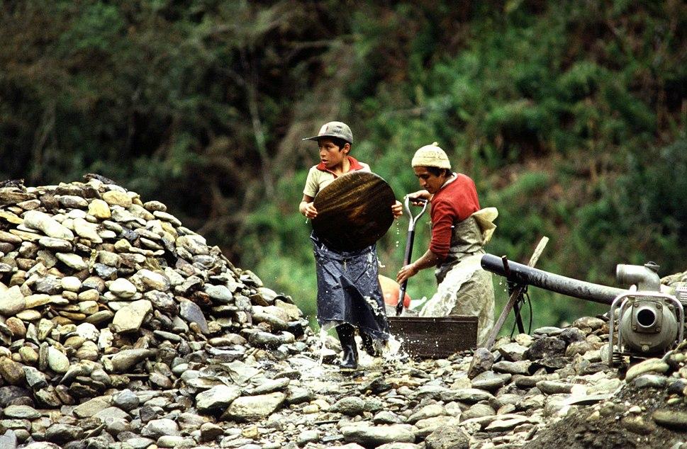 Child Labor in Morona Santiago, Ecuador 1990