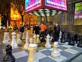 Children playing Chess at Charles Aznavour Square.jpg
