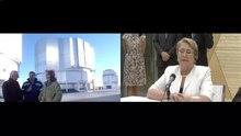 Dosiero: ĉilia prezidanto Michelle Bachelet okazigas videokonferencon kun Paranal Observatory de Internacia ekspozicio-Milano 2015. ŭebm