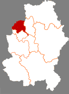 Changyi District District in Jilin, Peoples Republic of China