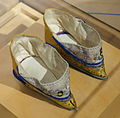 Chinese shoes for bound feet, Zhejian province, Ningbo-Shaoxing, 1850-1890 AD - Bata Shoe Museum - DSC00064.JPG