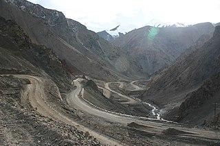 Mazar Pass Mountain pass in China