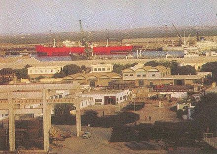 Port of Chittagong in 1960 Chittagong port 1960.jpg