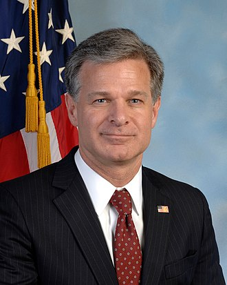 Director of the Federal Bureau of Investigation - Image: Chris Wray official photo