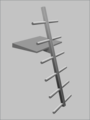 Christmas tree style diver's boarding ladder.png