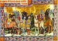 Chronicon Pictum P040 Szent István elfogatja Gyulát.JPG
