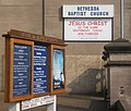 Church notice board and poster - geograph.org.uk - 1233517.jpg