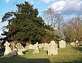 Churchyard, St Mary the Virgin, Homington - geograph.org.uk - 719081.jpg