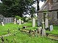 Churchyard of St Junabius, Llandinabo - geograph.org.uk - 958732.jpg