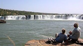 Gouina Falls - Image: Chutes Gouina 2