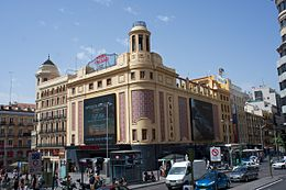 Cine Callao, Madrid, Spain 2012.jpg