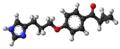 Ciproxifan molecule ball.png