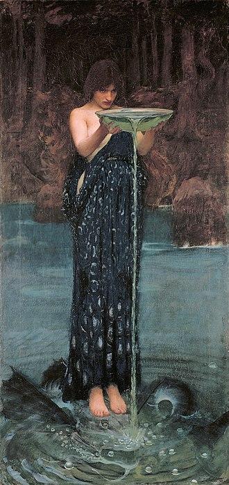 Circe Invidiosa - Image: Circe Invidiosa John William Waterhouse