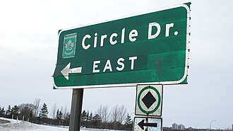 Saskatchewan Highway 16 - Circle Drive Highway 16