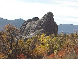 Bath Rock in the City of Rocks National Reserv...