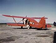 Civil Air Patrol Waco YKS-6 on tarmac