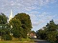 Cizkrajov, Kostel svatého Petra a Pavla, věž 02.jpg