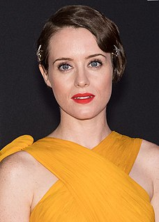 Claire Foy British actress