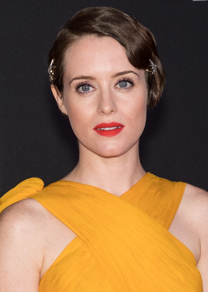 Claire Foy in 2018