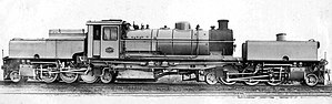 South African Class GDA 2-6-2+2-6-2 - Image: Class GDA no. 2257