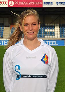Claudia van den Heiligenberg Dutch female association football player