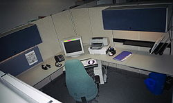 meaning of cubicle