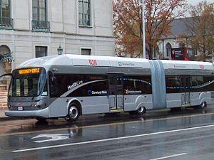 RTA Rapid Transit - Image: Cleveland Health Line 2015 Crop