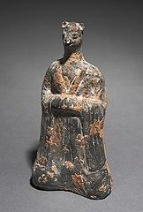 Mortuary Figure of the Zodiac Sign: Monkey (Sagittarius)
