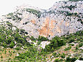 Cliffs near Komiža, island of Vis, Croatia.jpg