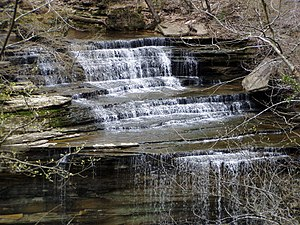 English: Clifty Falls, Clifty Falls State Park...