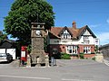 Clock Tower and Public House, Thornford village centre - geograph.org.uk - 453021.jpg