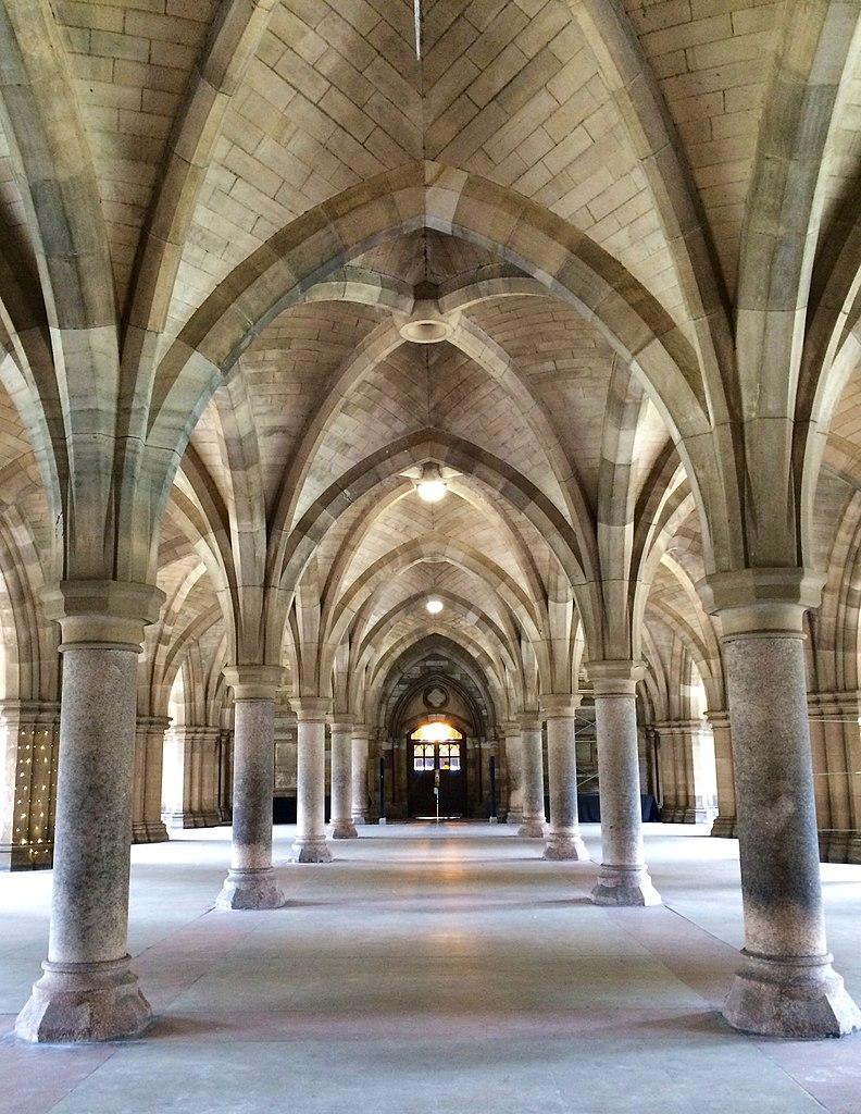 Magnifique cloître de l'Université de Glasgow - Photo de LornaMCampbell