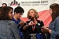 Closing ceremony Wikimania 2017 IMG 5585.JPG