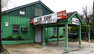Indianola, Mississippi - Club Ebony in Indianola