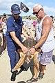 Coast Guard sailors rescue endangered sea turtles - 130902-G-BD687-004.jpg
