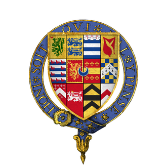 Andrew Dudley - Arms of Sir Andrew Dudley, KG