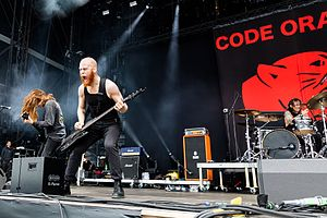 Code Orange (band) - Image: Code Orange 2017155145147 2017 06 04 Rock am Ring Sven 5DS R 0092 5DSR0383
