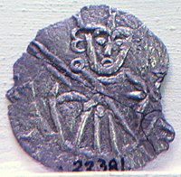 Coin danish king erik lamm, Eric III of Denmark.jpg