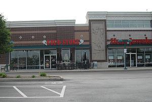 Cold Stone Creamery - Cold Stone Creamery in Springboro, Ohio.