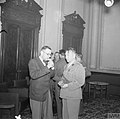 Colonel Leopold Okulicki, the Commander of the 7th Infantry Division (Polish Army in the East) with the Polish Ambassador in Persia.jpg